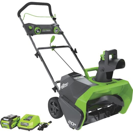Greenworks DigiPro G-MAX 20 In. 40V Cordless Snow Blower